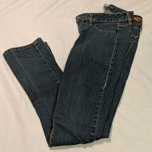 To Be With You Skinny Bootcut Jeans